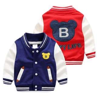 Baby baseball jacket