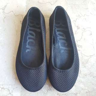 Black Ballet Flats Shoes for Women