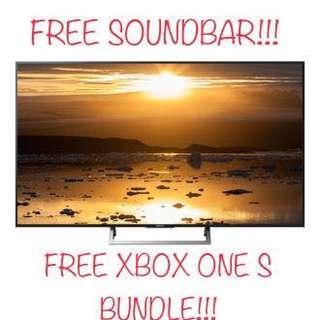 Sony 55X7000E 4K Ultra HD LED Internet TV with free Soundbar and Xbox one S