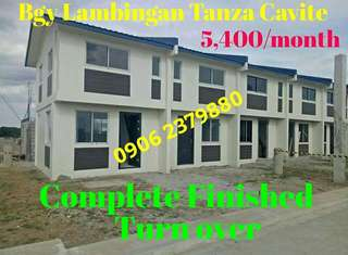 House&Lot ( Complete Turnover)