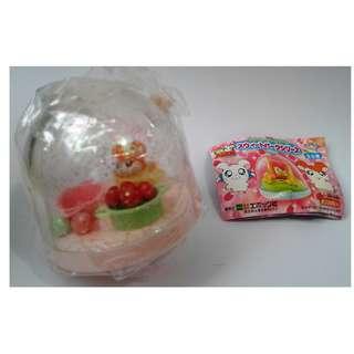 全新 絕版 水貨 扭蛋 2005年 EPOCH 哈姆太郎 甜甜公園系列 迷你(入水)水上游戲 座枱擺設 C款