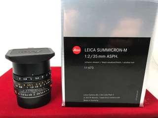 Leica Summicron 35mm F2