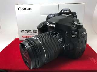 Canon 80D(18-55 F3.5-5.6)