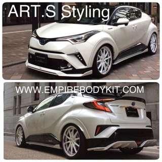 Toyota CHR Bodykit, ART.S Styling
