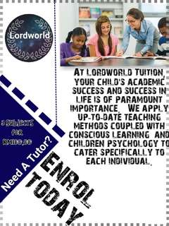 Home Tuition Services for Primary&Secondary Level