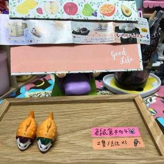 🚚 ✨EPOCH 倉鼠 食物系列4 鯛魚燒 溫泉饅頭 鏡餅 ✨
