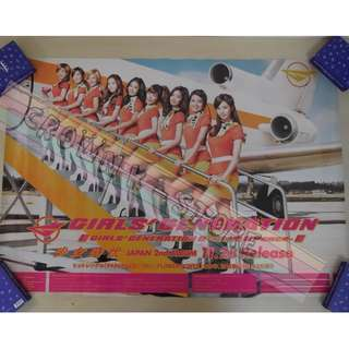 [CRAZY DEAL 90% OFF FROM ORIGINAL PRICE][READY STOCK][SMALL WRINKLED]GIRLS GENERATION SNSD KOREA OFFICIAL POSTER!!NEW! OFFICIAL ORIGINAL FROM KOREA (SELAED) (PRICE NOT INCLUDE POSTAGE) SHIP USING TUBE