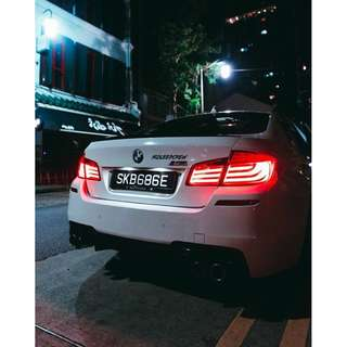 TUNED BMW 535i FOR RENT