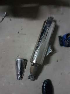 Honda cb400 revo exhaust pipe