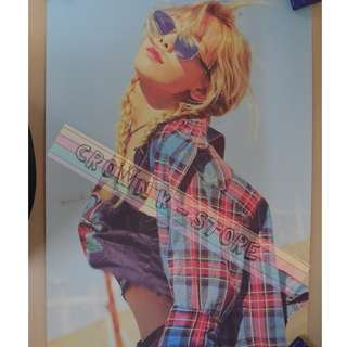 [CRAZY DEAL 90% OFF FROM ORIGINAL PRICE][READY STOCK]GIRLS GENERATION SNSD TAEYEON KOREA OFFICIAL POSTER!!NEW! OFFICIAL ORIGINAL FROM KOREA (SELAED) (PRICE NOT INCLUDE POSTAGE) SHIP USING TUBE
