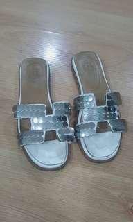 Hermes Oran Sandals (US37) SALE
