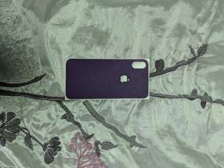 dBrand purple skin for iPhone X