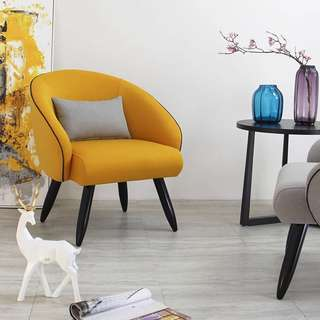 Mustard Yellow Designer Chair