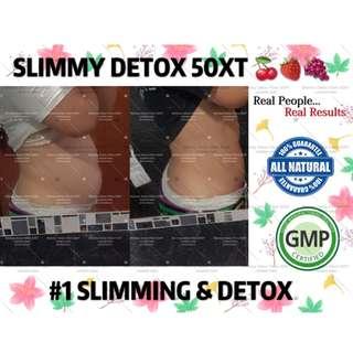 SLIMMY DETOX 50XT - FREE SLIMMY BOTTLE WITH MIN. PURCHASE!