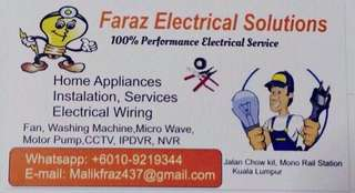 Electrical engineer door to door service
