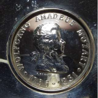 Amadeus Mozart medal