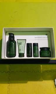 [Preloved] Innisfree Green Tea Seed Serum Signature Set