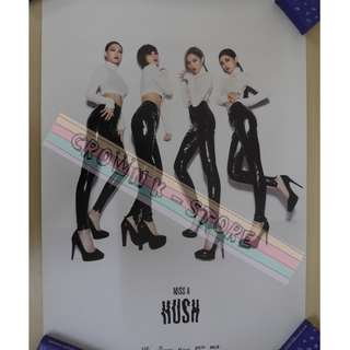 [CRAZY DEAL 90% OFF FROM ORIGINAL PRICE][READY STOCK]MISS A KOREA OFFICIAL POSTER!!NEW! OFFICIAL ORIGINAL FROM KOREA (SELAED) (PRICE NOT INCLUDE POSTAGE) SHIP USING TUBE