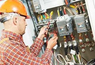 Electrical wiring and repairing door to door
