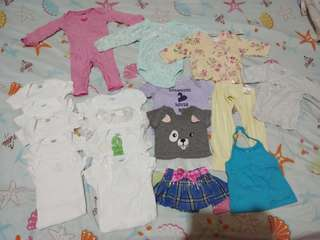 Take all 0-3 months baby girl's clothes
