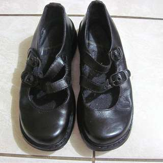 Dr. Marten's Candie black women's shoes doll shoes