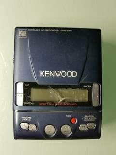 kenwood dmc-e7r md機  已壞機 通電無反應 只適合拆件改裝