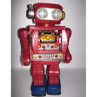 vintage robot Japan