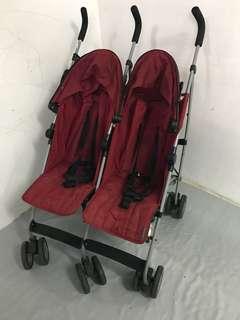 mamas papas twin stroller