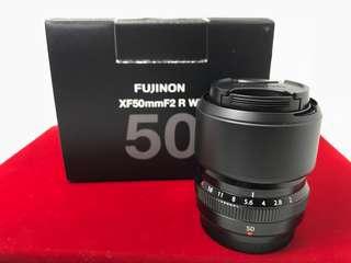 Fujifilm 50mm F2 R Lens