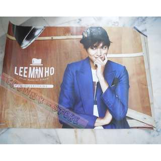 [CRAZY DEAL 90% OFF FROM ORIGINAL PRICE][READY STOCK]LEE MINHO KOREA OFFICIAL POSTER!!NEW! OFFICIAL ORIGINAL FROM KOREA (SELAED) (PRICE NOT INCLUDE POSTAGE) SHIP USING TUBE