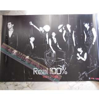 [CRAZY DEAL 90% OFF FROM ORIGINAL PRICE][READY STOCK]100% KOREA OFFICIAL POSTER!!NEW! OFFICIAL ORIGINAL FROM KOREA (SELAED) (PRICE NOT INCLUDE POSTAGE) SHIP USING TUBE