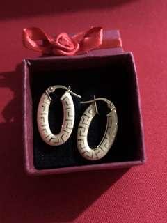 Fendi Gold Earrings