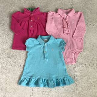 authentic Ralph Lauren 3-6mos