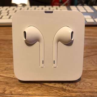 iPhone X EarPods with lightning connector