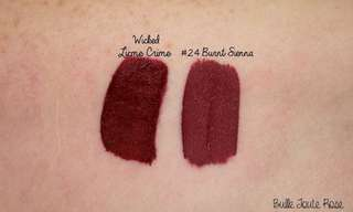 Sephora Cream Lip Matte Burnt Sienna