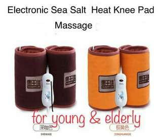 Great Deal for an Electronic Sea Salt Knee Pad Massager Suitable for Youngster& Elderly