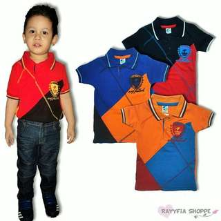 Kids Boys Collar T-Shirt (2y, 3y, 4y, 5y)