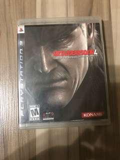 Metal Gear Solid V PS3