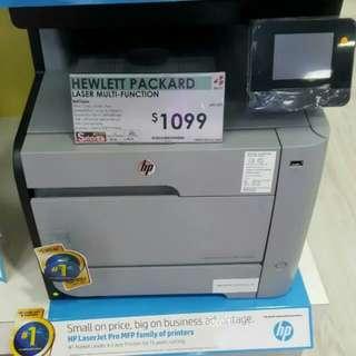 BNIB HP Color LaserJet Pro MFP M476dw - multifunction printer ( color )