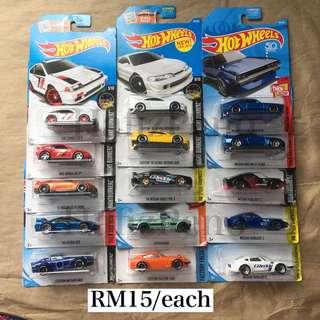 Hotwheels Honda Nissan Datsun Hot Wheels