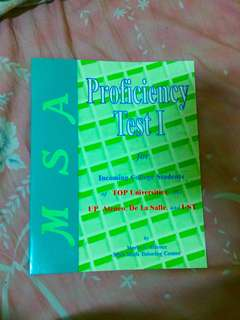Proficiency Book