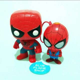 figure funko pop & seven eleven spiderman marvel
