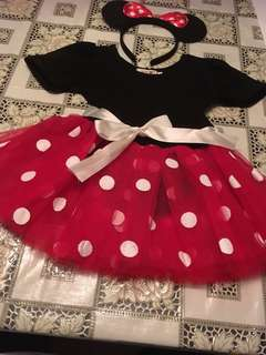 Mini mouse tutu set- 2/3