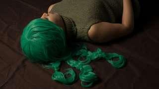 🚚 被讚賞過的綠長捲髮