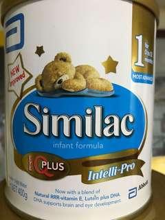 Similac Stage 1 Infant Formula Intelli-Pro