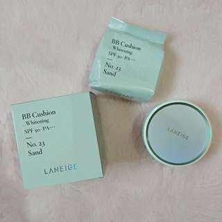 Laneige BB Cushion Whitening Shade 23 (Sand)
