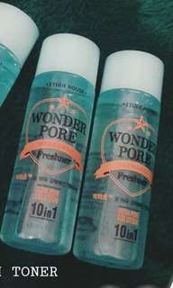 NEW etude house wonder pore toner