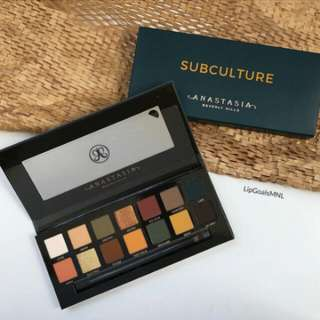 AUTHENTIC Anastasia Beverly Hills Subculture Palette