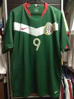 墨西哥國家隊主場足球球衣9號波格迪