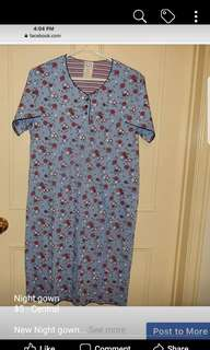 Night gown size M.brand new.cotton